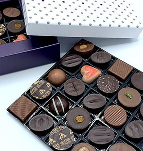 assortiments chocolats
